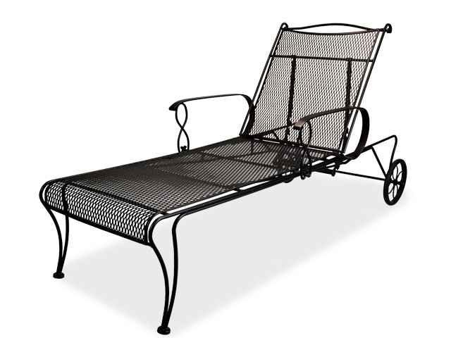 Newest Awesome Wrought Iron Chaise Lounge 1222839 Rialto Wrought Iron Inside Wrought Iron Chaise Lounges (View 6 of 15)