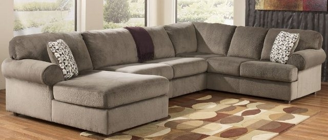 Newest Beautiful Living Rooms : U Shaped Sectional Sofa For Small Space Within Small U Shaped Sectional Sofas (View 5 of 10)