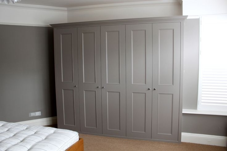 Newest Built In Wardrobes – Fitted Bedroom Solutions Derby Throughout Grey Wardrobes (View 10 of 15)