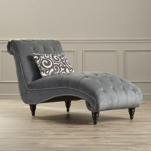 Newest Buy A Patio Grey Chaise Lounge Chair Prefab Homes With Idea 18 Throughout Gray Chaise Lounges (View 4 of 15)
