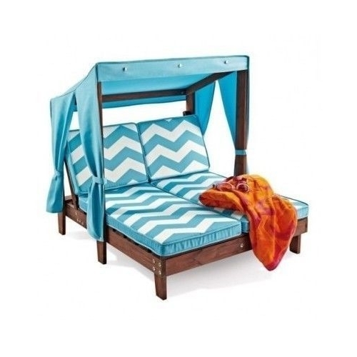 Newest Chaise Patio Daybed Bed Lounge Seat Canopy Gazebo New Pool With Outdoor Chaise Lounge Chairs With Canopy (View 7 of 15)