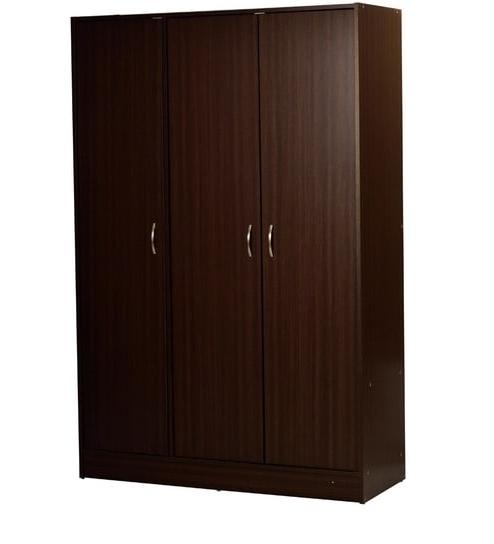 Newest Dark Brown Wardrobes Throughout Three Door Wardrobe In Dark Brown Finishheveapacheveapac (View 11 of 15)