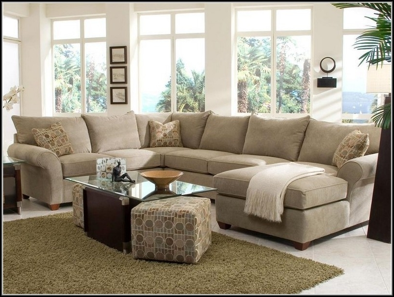 Newest Fancy Sectional Sofa With Chaise And Ottoman With Sectional Sofas Within Sectional Sofas With Chaise Lounge And Ottoman (View 6 of 10)