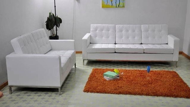 Newest Florence Knoll Living Room Sofas For Florence Knoll Style 3 Seater Sofa (View 5 of 10)