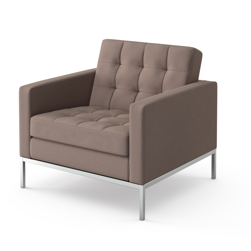 Newest Florence Knoll Wood Legs Sofas In Florence Knoll Lounge Chair (View 8 of 10)