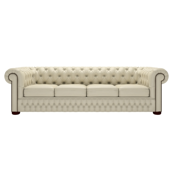Newest Four Seater Sofas In Classic Chesterfield Four Seater Sofa (View 7 of 10)