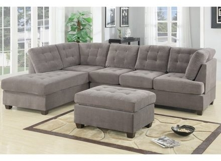 Newest Grey Sectionals – Meonthemap Within Grey Sectionals With Chaise (View 10 of 15)