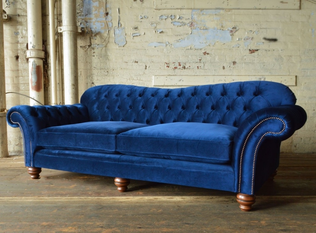 Newest Hammersmith Velvet Chesterfield Sofa (View 4 of 10)