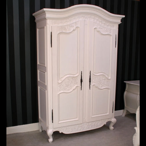 Newest How To Purchase The Best French Armoire Wardrobe – Elites Home Decor In White French Wardrobes (View 6 of 15)