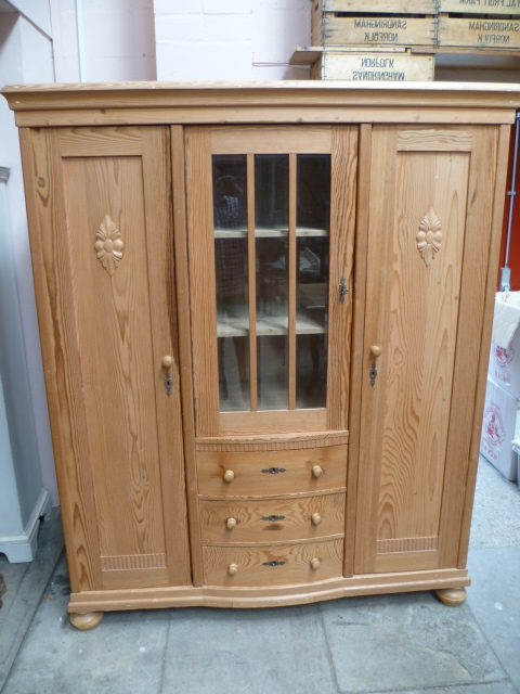 Newest Large Antique Pine Breakdown Wardrobe – Antiques Atlas Intended For Large Antique Wardrobes (View 14 of 15)