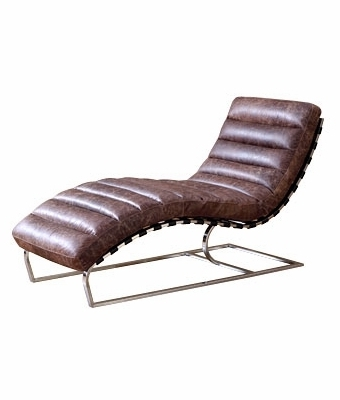 Newest Leather Chaise Lounge Chairs For Great Chaise Lounge Leather Contemporary Leather Chaise Lounge (View 10 of 15)