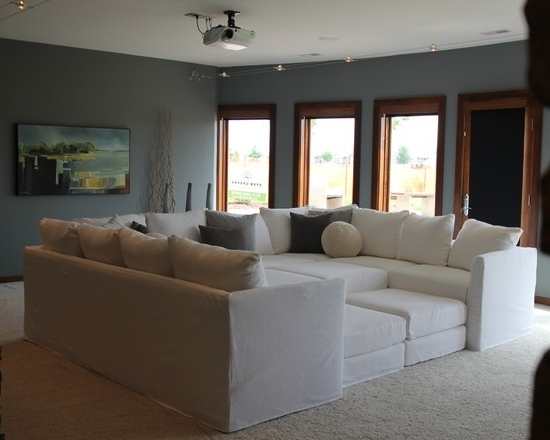Newest Media Room Sectional Sofas With Regard To 22 Best Media Room Images On Pinterest (View 7 of 10)