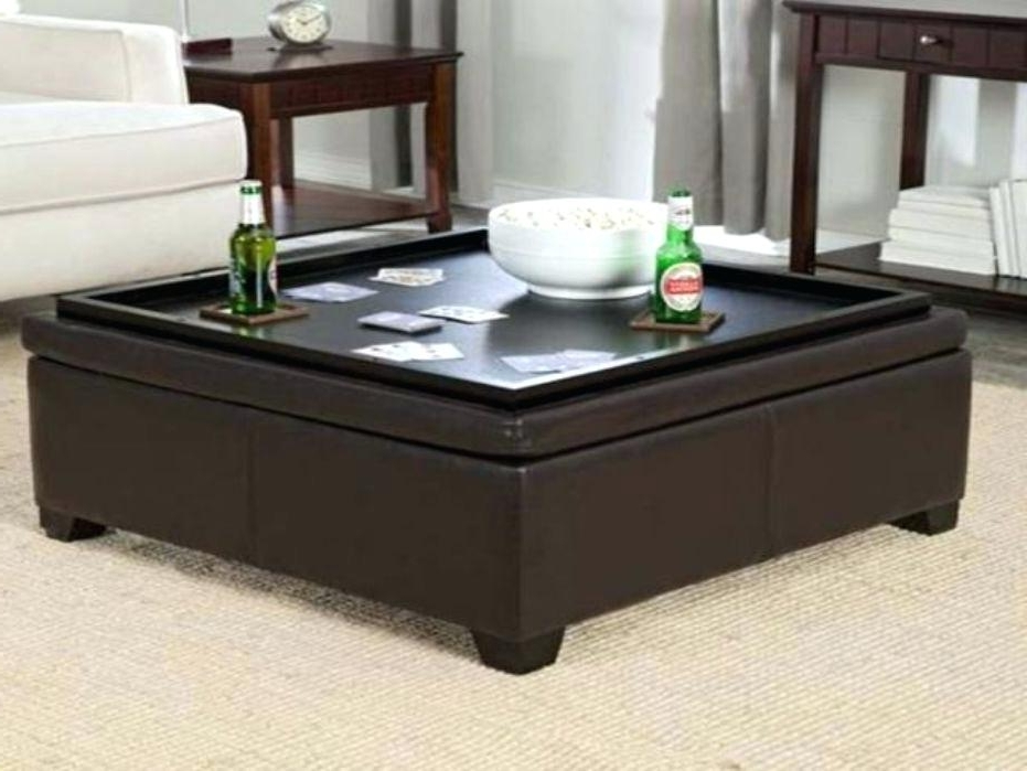 Newest Ottoman With Tray On Top Top Coffee Table Storage Ottoman With Inside Ottomans With Tray (Gallery 10 of 10)