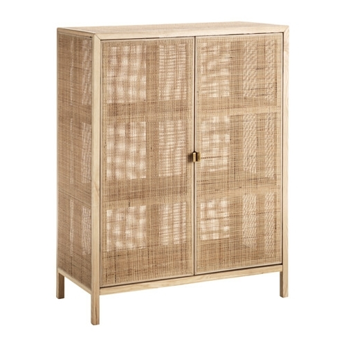 Newest Rattan Wardrobes For Stockholm 2017 Cabinet – Ikea (View 5 of 15)