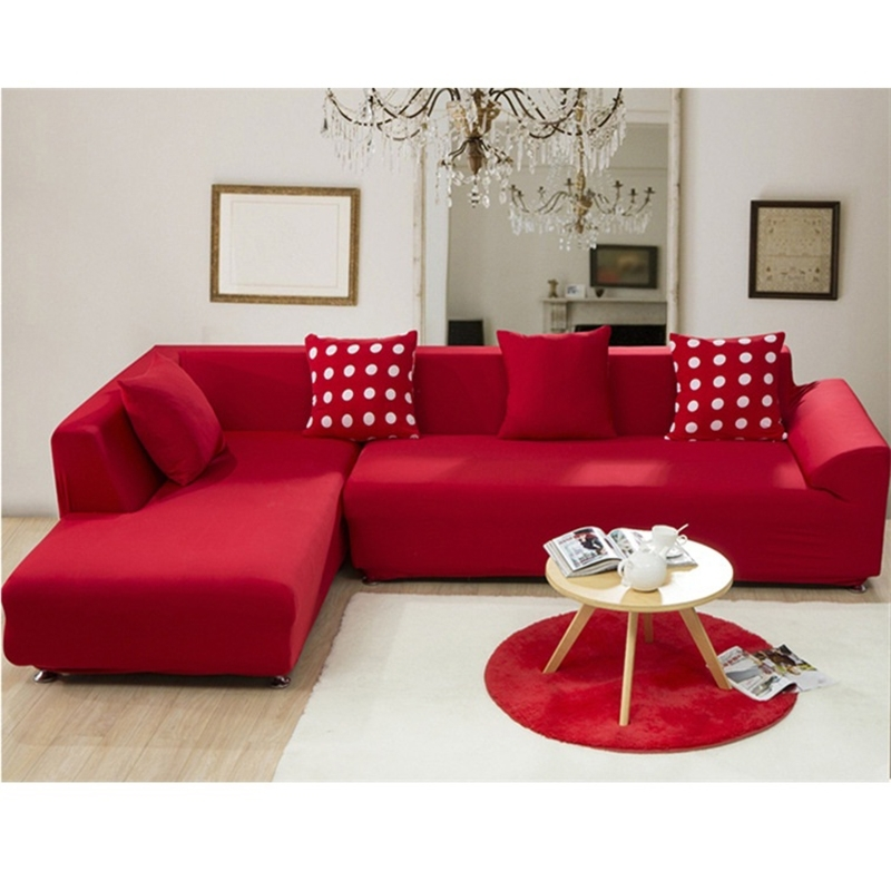 Newest Red Sofa Covers – Sofa A With Red Sofa Chairs (Gallery 5 of 10)
