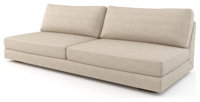 Newest Sectional Sofa Design: Armless Sectional Sofa Covers Small Spaces With Regard To Armless Sectional Sofas (View 9 of 10)