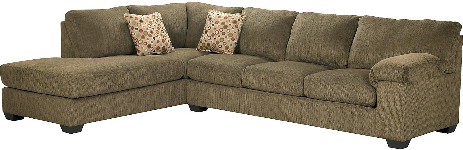 Newest Sectional Sofas At Brick In Living Room Sofa Furniture Aberdeen Chenille Leather Sectional (View 6 of 10)