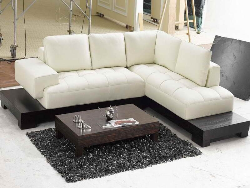 Newest Sectional Sofas For Small Places With Regard To Modern Contemporary Sectional Sofas For Small Spaces (View 5 of 10)