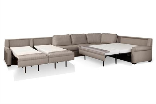 Newest Sleeper Sectional Sofas Pertaining To Beautiful Sleeper Sectional Sofa 13 For Your Sofa Table Ideas With (View 8 of 10)