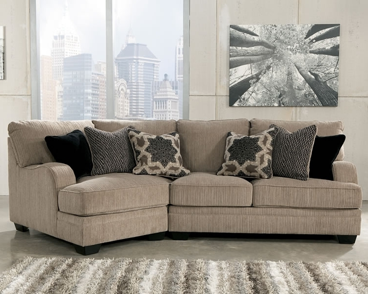Newest Small Sectional Sofa With Chaise, Ashley Sectional Sofa With Pertaining To Sectional Sofas With Cuddler (Gallery 2 of 10)