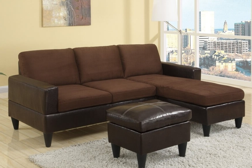Newest Small Sectional Sofas With Chaise And Ottoman Pertaining To 40 Cheap Sectional Sofas Under $500 For  (View 7 of 10)
