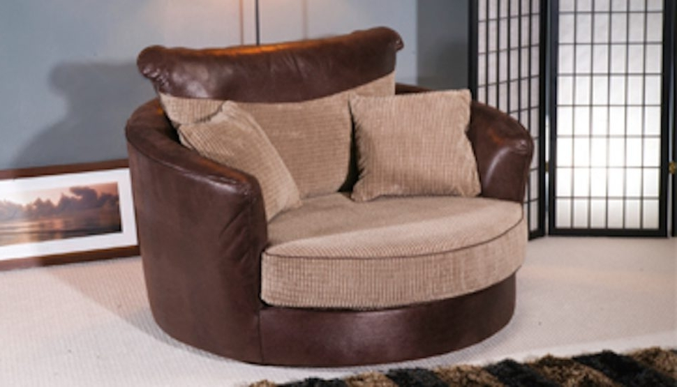 10 Best Ideas Of Cuddler Swivel Sofa Chairs