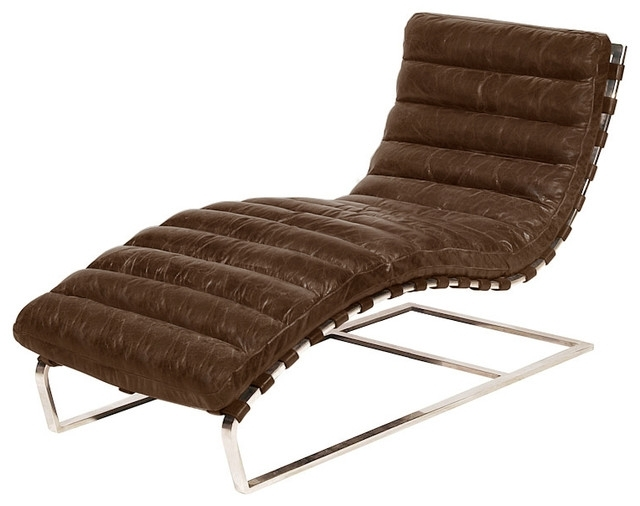 Newest Unique Indoor Chaise Lounge Chairs With Cool Design For Chaise Lounge Chairs Indoor Ideas Sofa Leather (View 12 of 15)