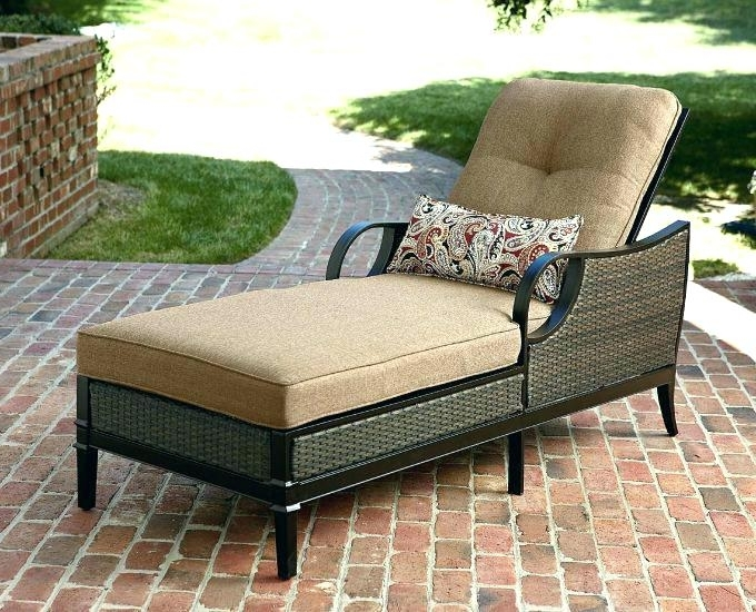 Newest Walmart Outdoor Chaise Lounges Regarding Unique Walmart Outdoor Furniture And Lounge Cushions Discount (View 6 of 15)