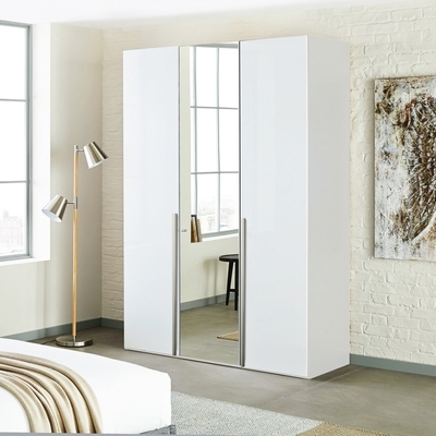 Featured Photo of White Mirrored Wardrobes