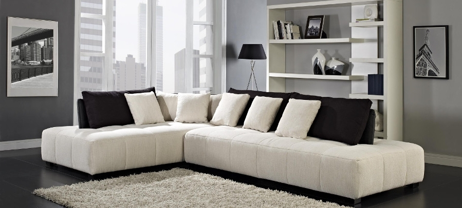 Nj Sectional Sofas Within Popular Modern Sectional Sofas, Contemporary Living Room Sofa Sets Ny, Nj (View 7 of 10)