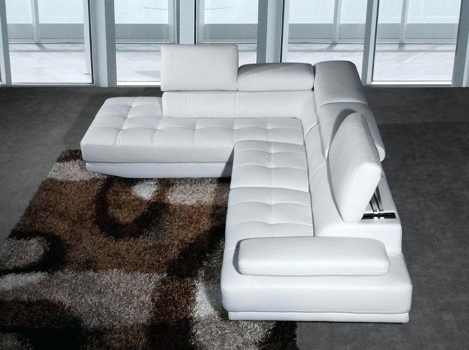 Noble Modern Corner Sofa Leather Images – Gradfly.co In Most Recently Released White Leather Corner Sofas (Gallery 5 of 10)