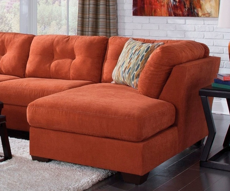 Orange Sectional Sofas Throughout Favorite Stylish Orange Sleeper Sofa Living Room Orange Sectional Sofa Home (Gallery 4 of 10)