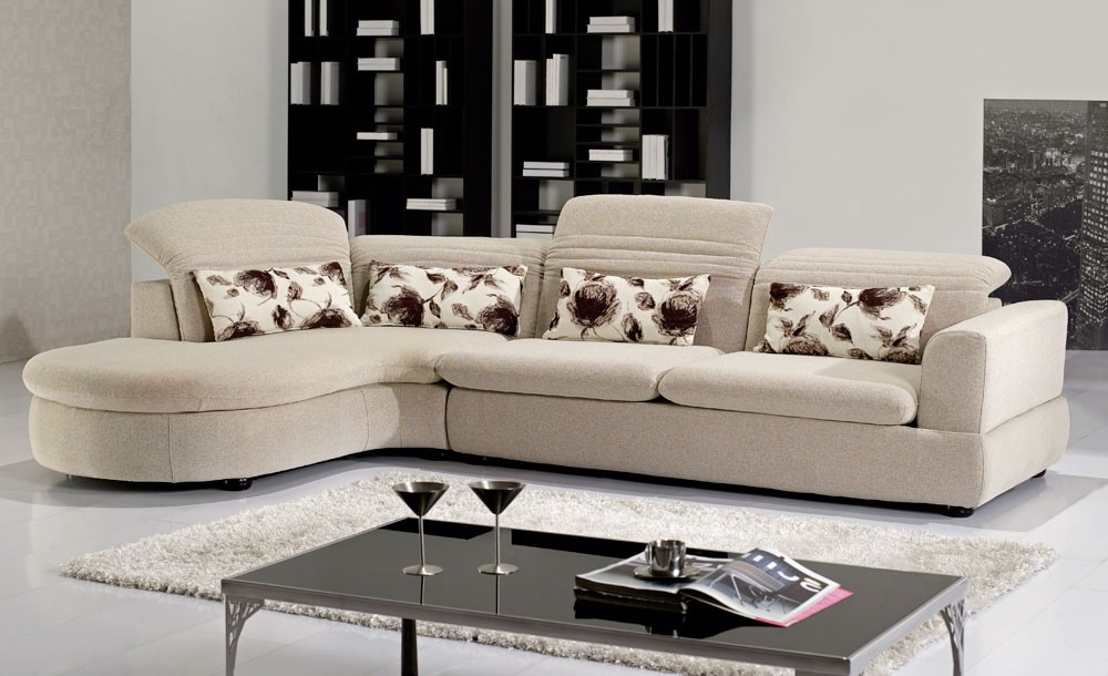 Orlando Sectional Sofas Intended For Most Current Modern Fabric Sectional (Gallery 5 of 10)