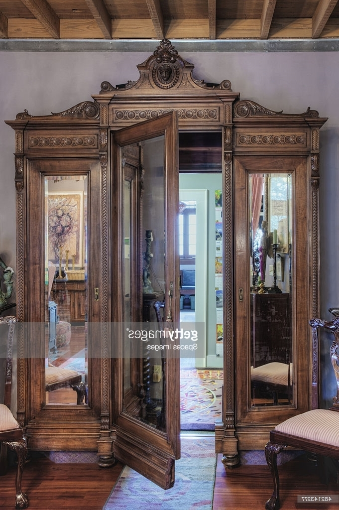Ornate Wardrobe With Secret Door (Gallery 9 of 15)