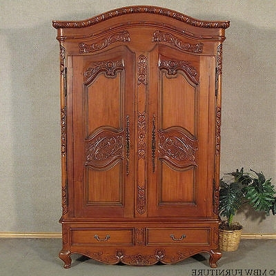 Ornate Wardrobes In Famous Armoire Collection On Ebay! (View 11 of 15)