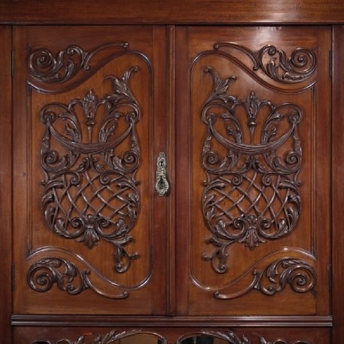 Ornate Wardrobes Pertaining To Latest Ornate Mahogany Wardrobe (View 13 of 15)