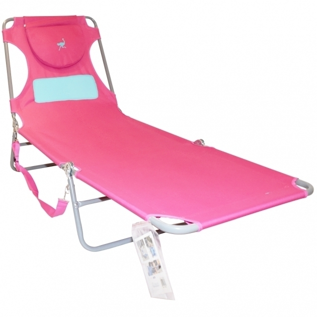 Ostrich Chair Folding Chaise Lounges In Newest Ostrich Chair Folding Chaise Lounge Pink Backpack Beach Chairs (View 7 of 15)