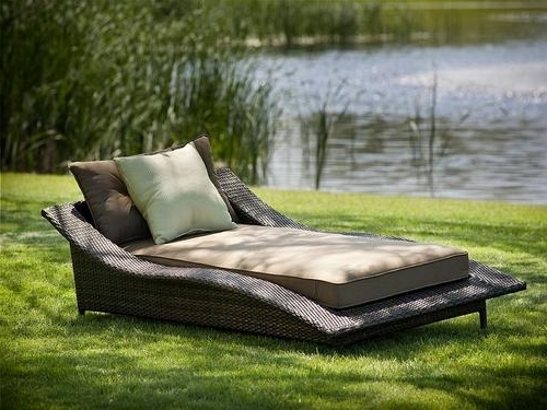 Outdoor Chaise Lounge Chairs Cushions Intended For 2017 Lowes Outdoor Chaise Lounges (Gallery 3 of 15)