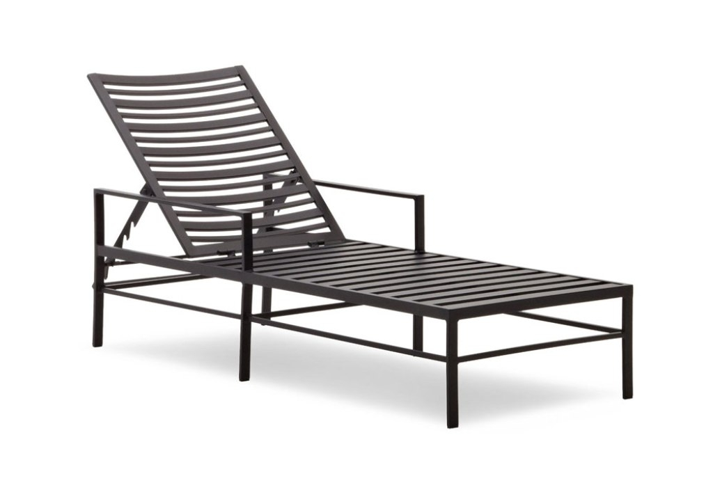 Outdoor Chaise Lounge Chairs With Arms Within Most Recently Released Elegant Patio Chaise Lounge Chair Stylish Outdoor Chaise Lounge (View 9 of 15)