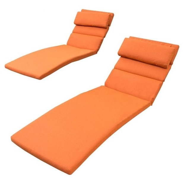Outdoor Chaise Lounge Cushions : Outdoor Chaise Lounge Cushion Throughout Favorite Sunbrella Chaise Lounge Cushions (Gallery 11 of 15)