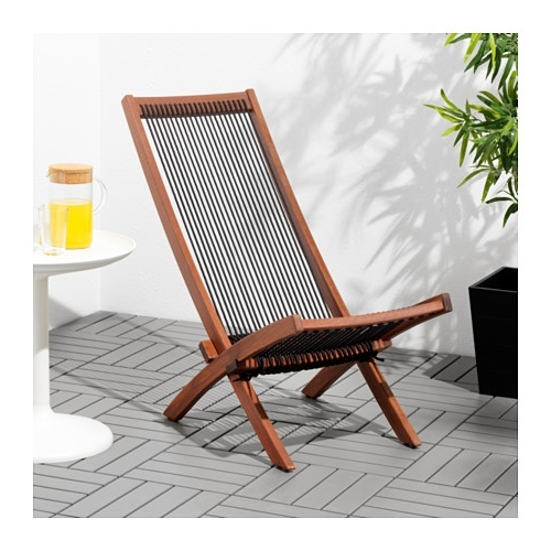 Outdoor Ikea Chaise Lounge Chairs With Popular Brommö Chaise, Outdoor – Ikea (View 12 of 15)