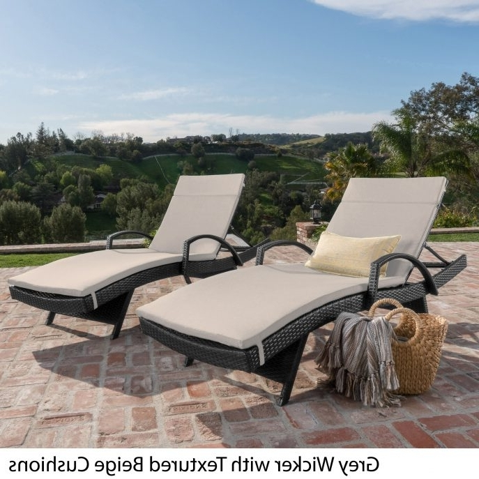 Outdoor : Lowes Chaise Lounge Indoor Outdoor Chaise Lounge Chairs For Well Known Hotel Pool Chaise Lounge Chairs (Gallery 9 of 15)