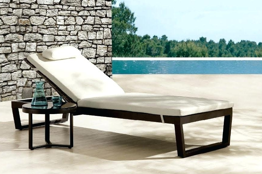 Outdoor Pool Furniture Chaise Lounge Excellent Outdoor Chaise With Regard To Current Outdoor Lounge Chaises (Gallery 2 of 15)