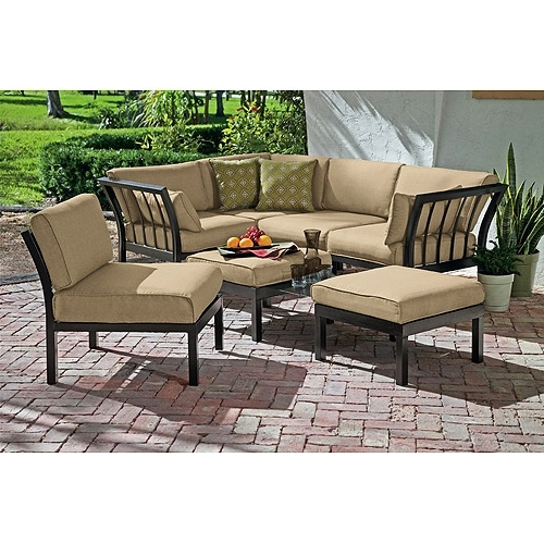 Outdoor Sofa Chairs In Most Popular Sectional Sofa Design: Outdoor Sectional Sofa Set Lorita Wicker (Gallery 1 of 10)