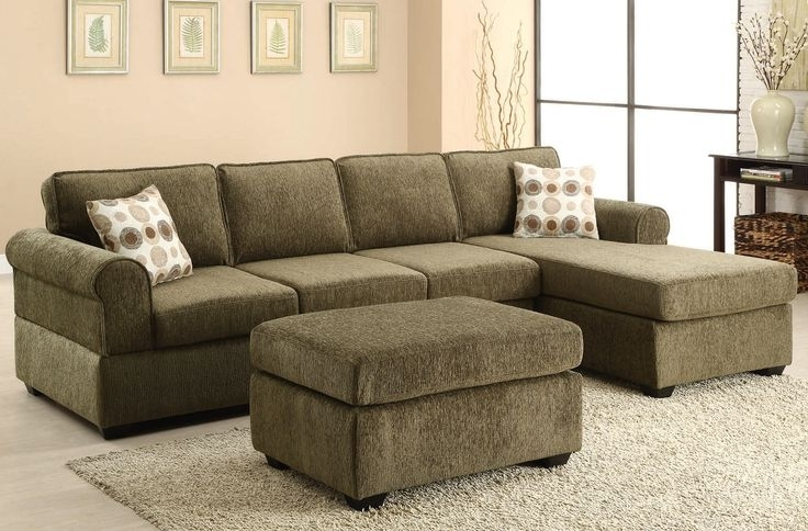Oval Grey Modern Wooden Tables Olive Green Sectional Sofa As Well Within 2017 Green Sectional Sofas (View 9 of 10)