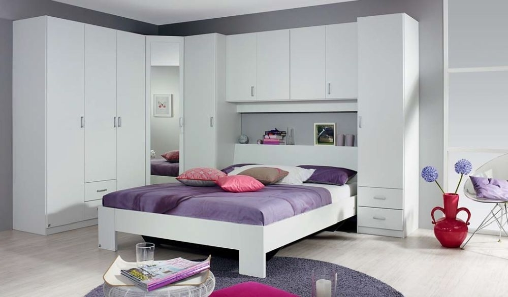 Over Bed Wardrobes Units For Newest Excellent Buy Rauch Kreta Overbed Unit Online Cfs Uk Within Over (View 6 of 15)