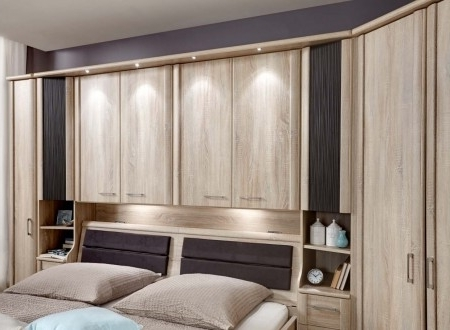 Over Bed Wardrobes Units Regarding 2017 Wiemann Luxor Bedroom System – Bedrooms And Beds (View 11 of 15)