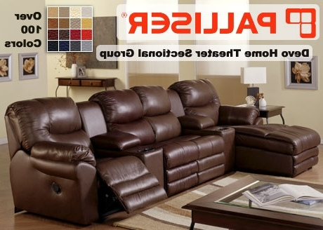 Palliser Home Theater Sectional Sofa Sets Theater Sectional Sofas For Current Theatre Sectional Sofas (View 3 of 10)