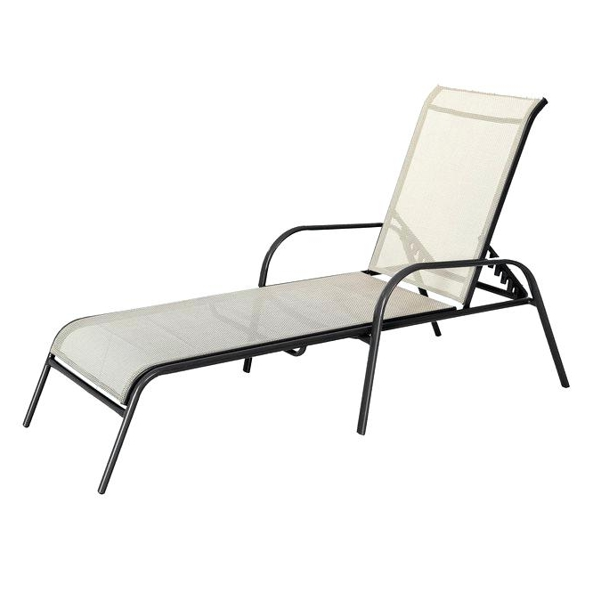 Patio Chaise Lounges Wicker Outdoor Chaise Lounge With Outdoor In Well Liked Patio Chaise Lounges (View 7 of 15)