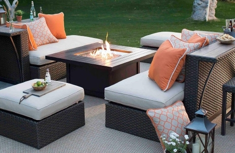 Patio Sofas With Regard To 2017 Patio Furniture, Outdoor Dining, And Backyard Decor (View 7 of 10)